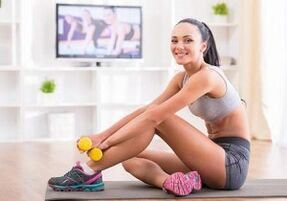 do sports to lose weight at home